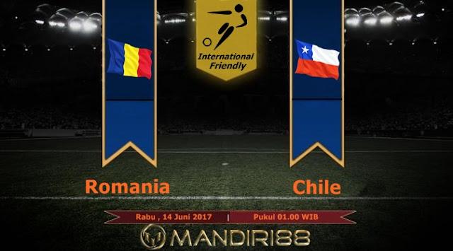 Prediksi Bola : Romania Vs Chile , Rabu 14 Juni 2017 Pukul 01.00 WIB