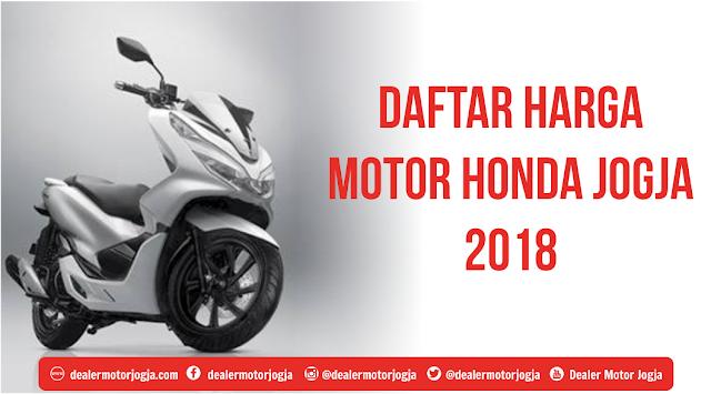 Daftar Harga Sepeda Motor Honda Februari 2018 Jogja dan Sekitarnya