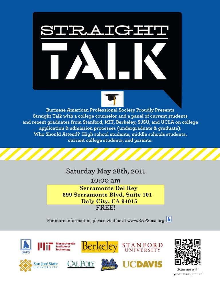 Burmese Community Activities and Events: Straight Talk ...