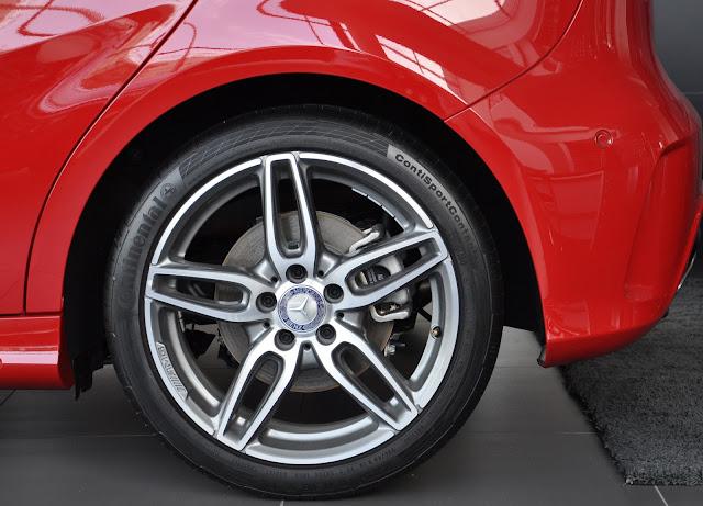 Bộ mâm Mercedes A250 hợp kim nhôm đúc