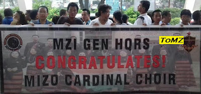 Mizo Cardinal Choir MZI In Lo Hmuah