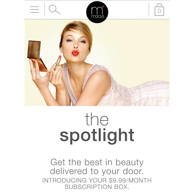 New Macy S Spotlight Beauty Box Subscription Service