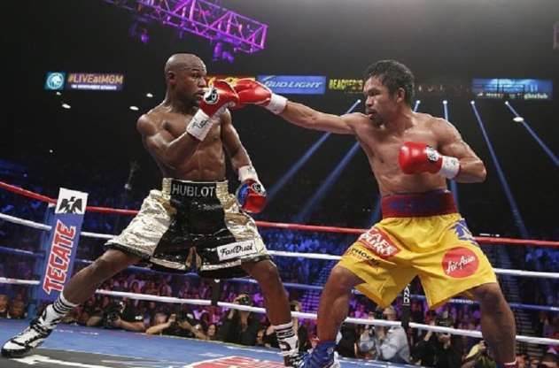 Manny Pacquiao claims he is in advanced talks for Floyd Mayweather rematch in May