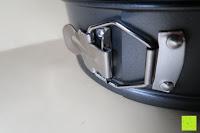 Verschluss: Andrew James 3-er Set Springform mit Anti-Haft-Beschichtung