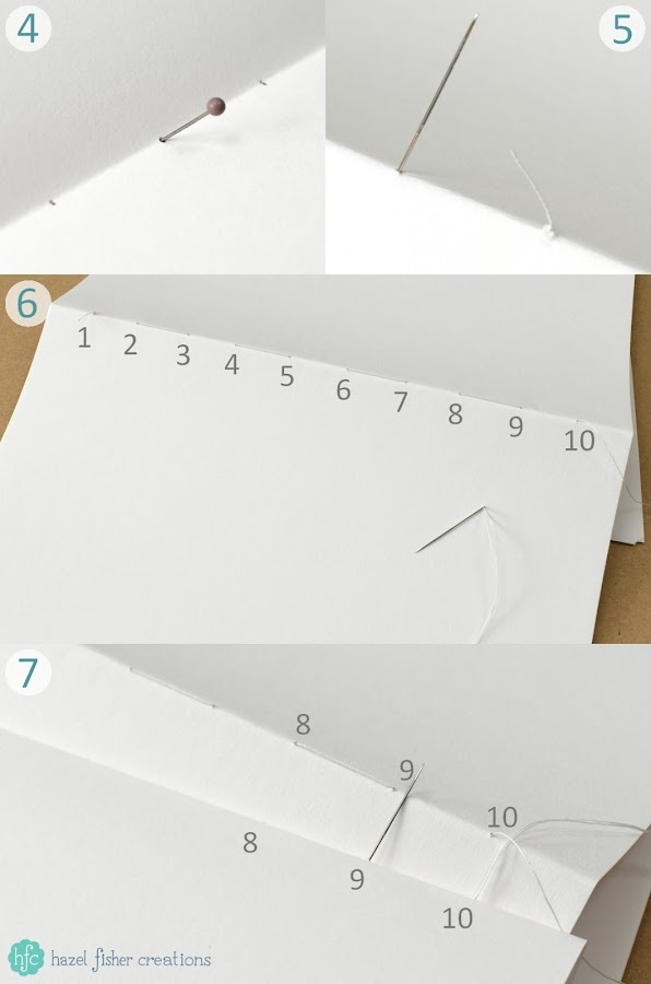 How to Make You Own Sketchbook - learn this bookbinding technique to make sketchbooks, journals and notebooks! hazel fisher creations