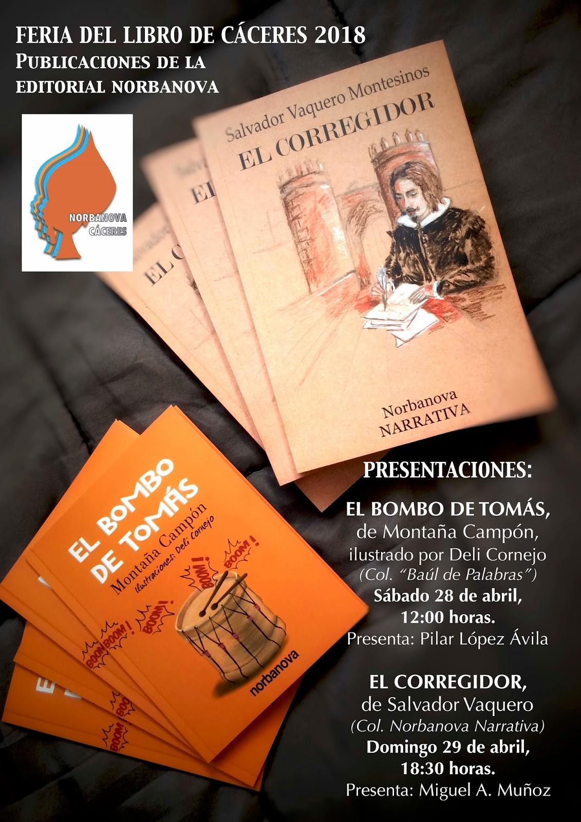 PRESENTACIÓN DE LOS NUEVOS LIBROS DE LA A.C NORBANOVA