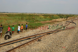 Gerbong Anjlok: Rel Melengkung dan Patah Hingga Roda Terlepas