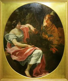 b48988e5166 Entourage de Simon Vouet (1590-1649)   Bacchus et Erigone ou L Automne (c.  1630-40)