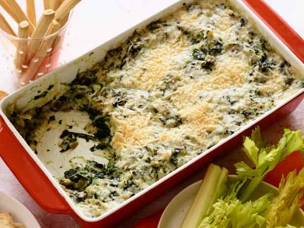 This twist on classic spinach artichoke dip is sure to be a winner at any holiday dinner Gorgonzola Spinach Artichoke Dip Recipe