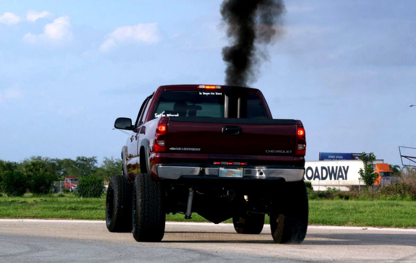 Lifted Trucks With Stacks Rolling Coal Wallpapers Link