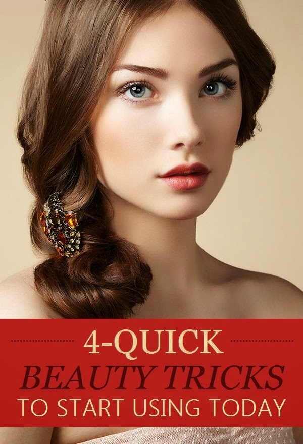 4 Quick Beauty Tricks to Start Using TODAY #makeup_tips
