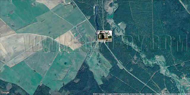Налибокская пуща, Погорелка. Автобусная остановка