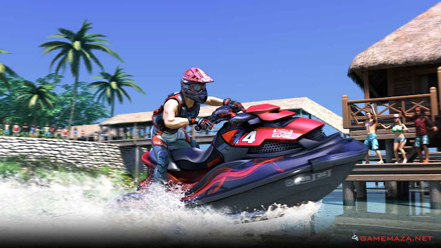 Aqua Moto Racing Utopia Gameplay Screenshot 2