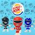 Burger King terá brinquedos de Power Rangers