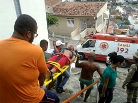 Jovens são atacados a tiros por homens armados na cidade de Jacobina