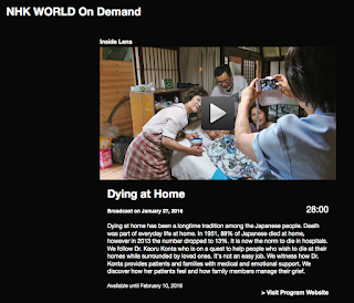 documenting ian, blog: Dying at Home