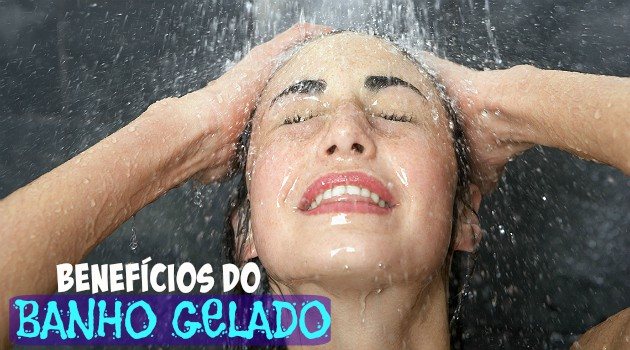 banho frio emagrece
