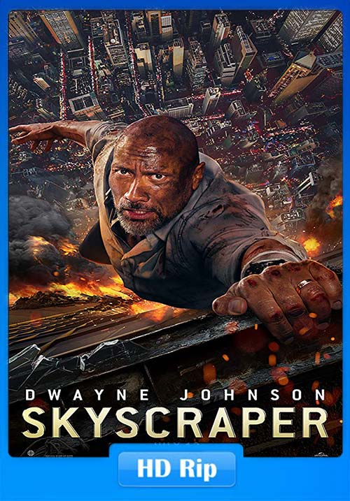 Skyscraper 2018 720p BDRip Hindi Tamil Eng ESubs x264 | 480p 300MB | 100MB HEVC