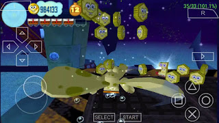 Game Spongebob's Truth or Square PPSSPP