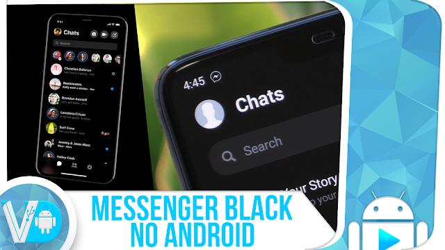 INÉDITO! Tenha o Messenger do iPhone [iOS12] no Android + MODO ESCURO 2019