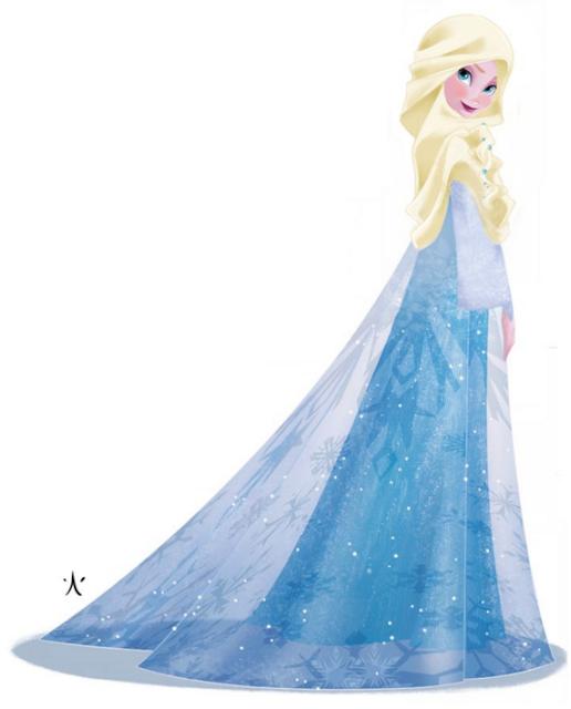 Princess Disney Menggunakan Hijab