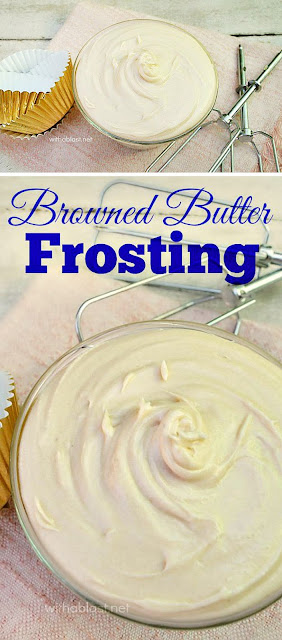 How to make the most delicious Browned Butter Frosting ! If you have never tasted (or made this) now is the time to start - a must have recipe, especially for Fall desserts