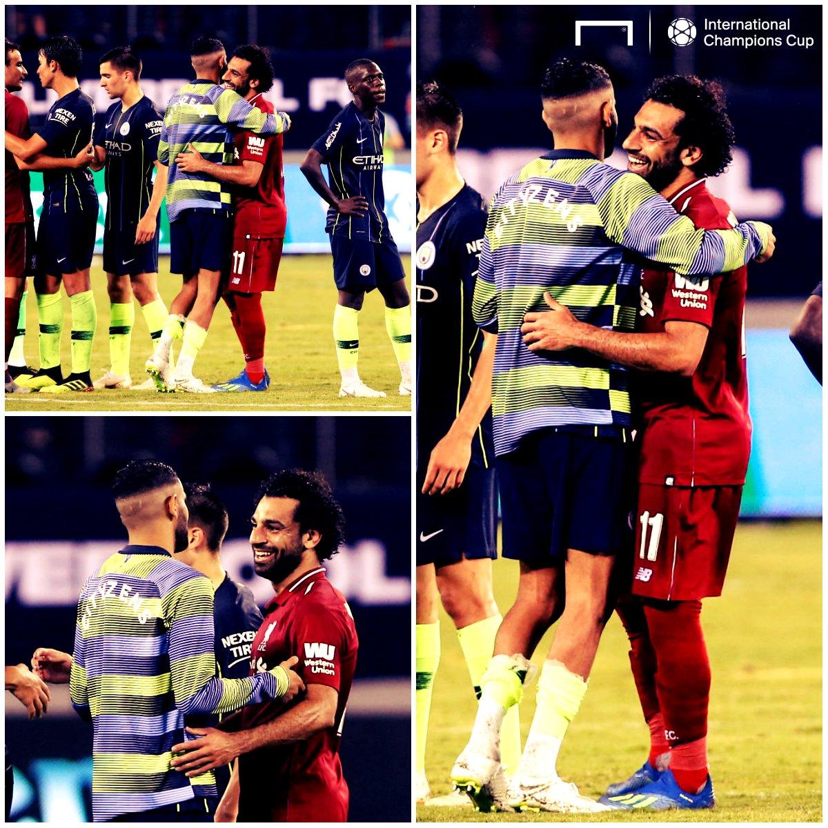 عودة محمد صلاح الناريه تشعل مباراة ليفربول الإنجليزى امام مواطنه مانشستر سيتى بفوز 2-1