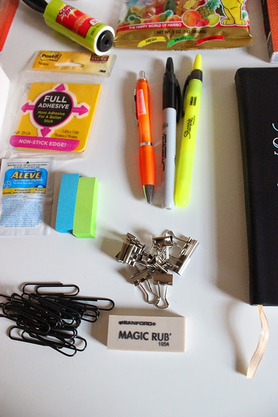 New Job Survival Kit Office Supplies DIY Project