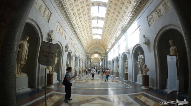 Braccio novo,Museus Vaticanos, Vatican Museum, Vaticano