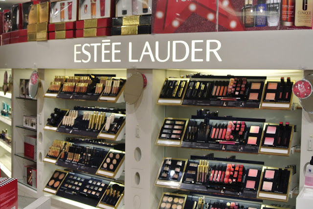 Debenhams Estee Lauder in The Bridges Sunderland Christmas Gifts 2016