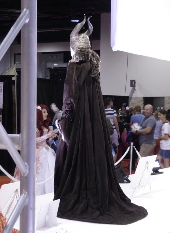 Maleficent movie costume back