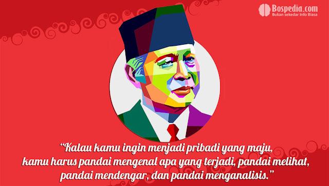 Kartu kata kata Kemerdekaan Presiden Soeharto
