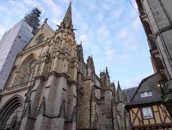 Catedral de St-Pierre de Vannes.