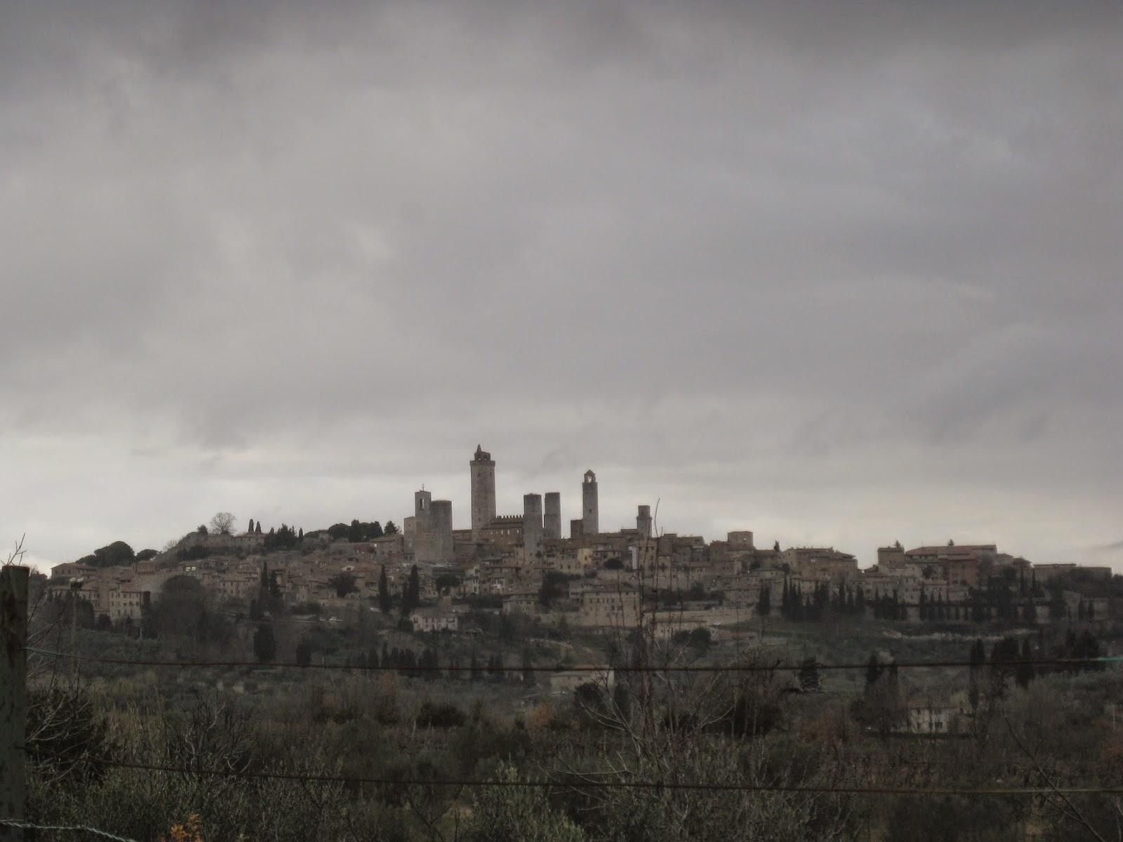 Vista general de San Gimignano y sus torres
