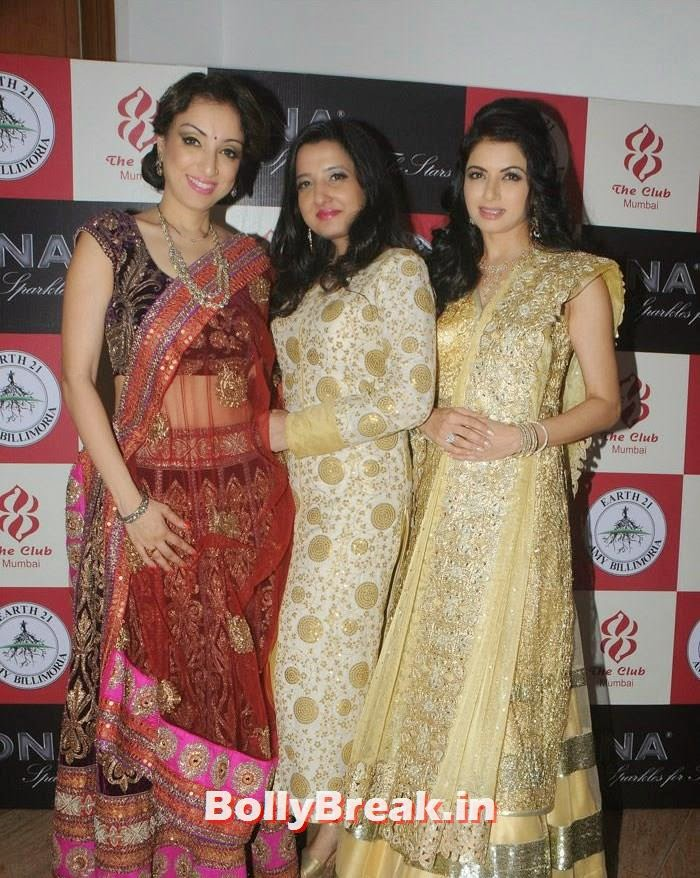Madhurima Nigam, Amy Billimoria, Bhagyashree, Amy Billimoria Fashion Show - The Big Fat Fashionable Wedding