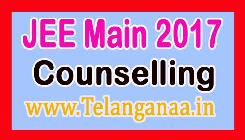 JEE Main 2017 Counselling Download