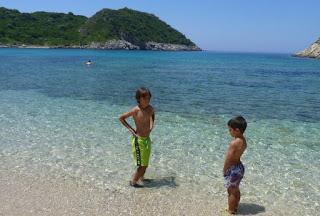 Isla de Corfú, Porto Timoni.