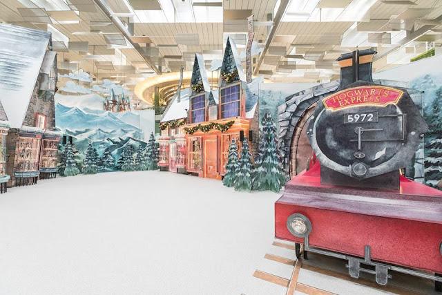 Aeroporto de Singapura recria cenários de 'Harry Potter' | Ordem da Fênix Brasileira
