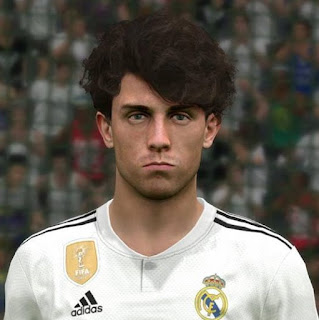 PES 2017 Faces Álvaro Odriozola by Ben Hussam FaceMaker