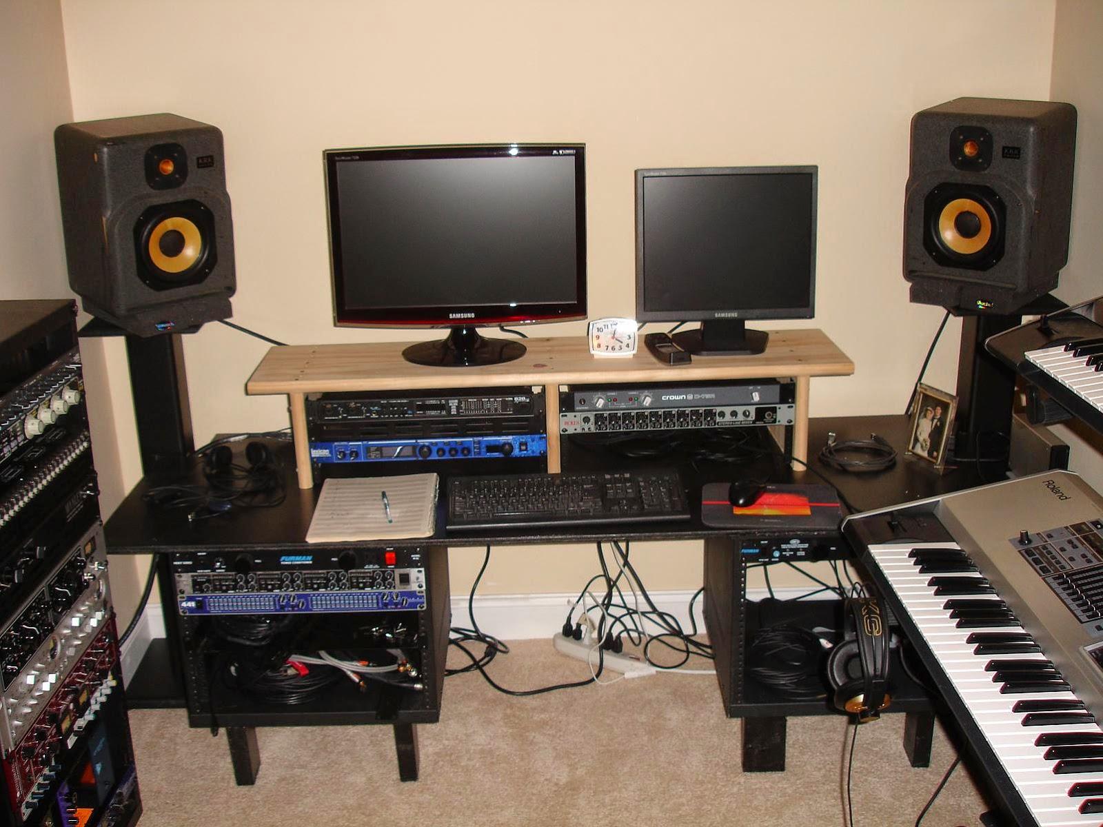 Fantastic E Novations Setup Up Your Own Home Recording Studio Largest Home Design Picture Inspirations Pitcheantrous