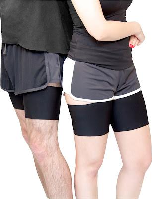 Bandelettes lisas para evitar rozaduras en deportistas