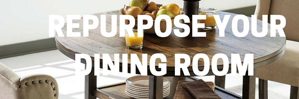 repurpose dining room | Towne Home Furnishings: 5 Ways To Repurpose Your Dining Room