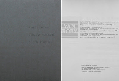 Folleto Van Roey 2010, portada
