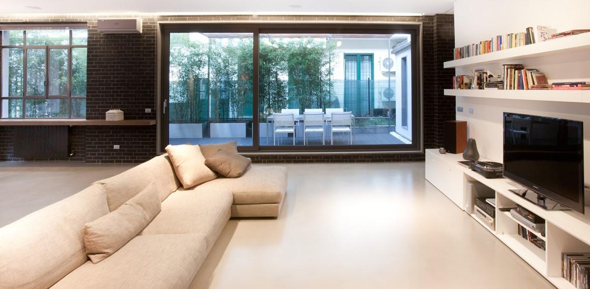 Pavimento in resina vantaggi e svantaggi edilizia in un for Pavimenti per cucina e soggiorno