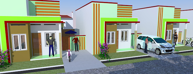 desain rumah milenial