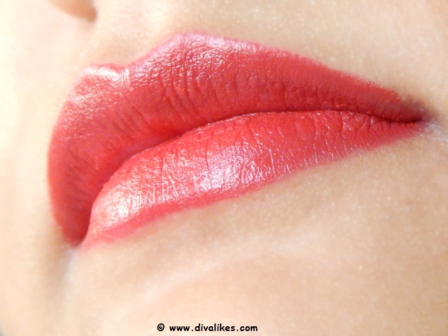 Maybelline Color Show Big Apple Red Creamy Matte Lipstick Red Liberation Lip Swatch