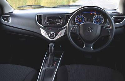 Baleno car interior - steering look