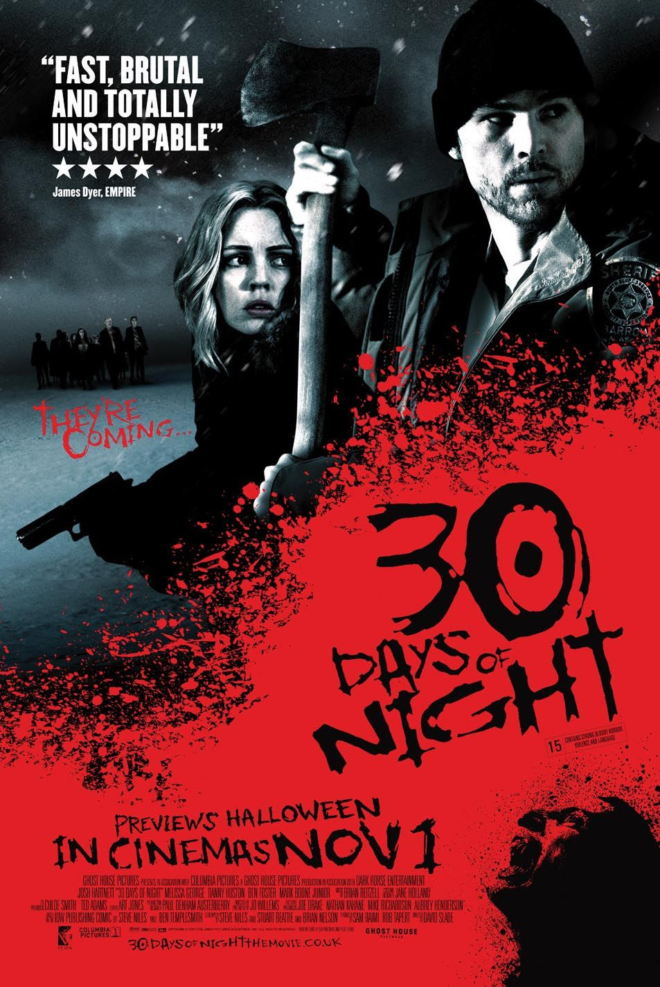 30 Days of Night (2007) ταινιες online seires xrysoi greek subs