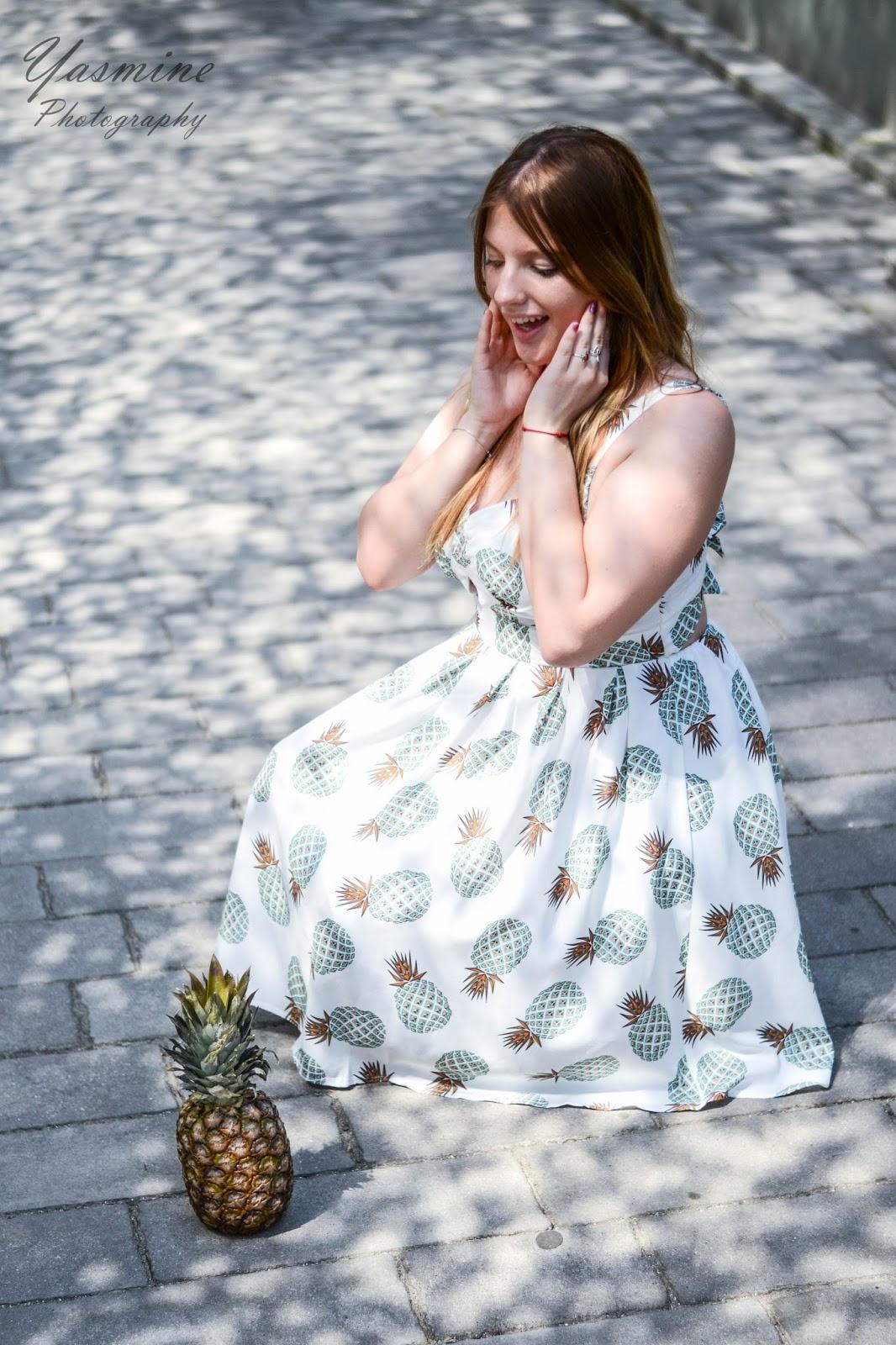 czy warto kupowac na stronach chińskich sklepów zaful sammydress dresslink sukienka w ananasy chińskie sklepy internetowe jakość pineapple dress fashion style melodylaniella yasmine photography r