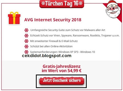 license code AVG Internet Security 2018 full version